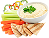 Carrot-sticks-capsicum-sticks-hommus-and-Lebanese-bread